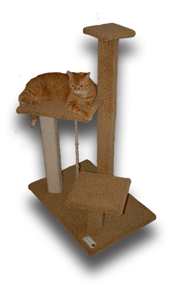Scratching Post UAE cat tree