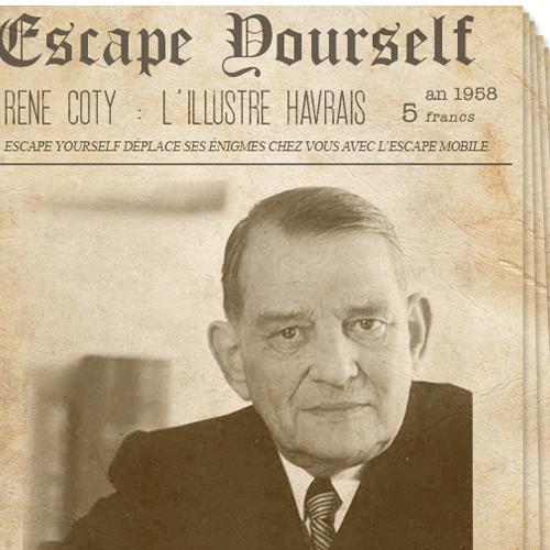 Escape Yourself - René Coty