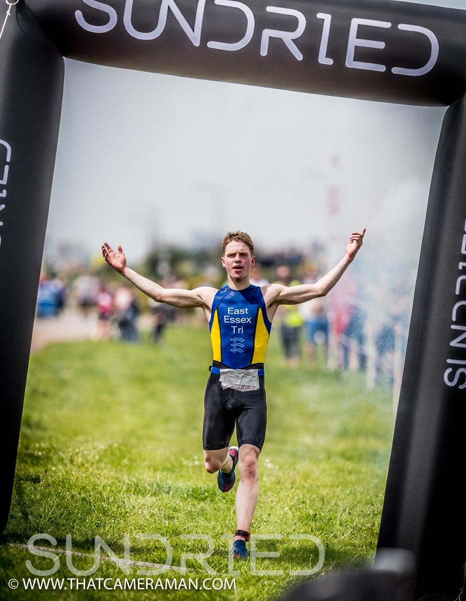 Harrison Smith of East Essex Triathlon Club