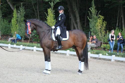 Evelina och Weine i Krainstienerhof