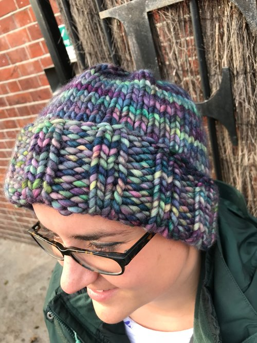 Knitting Pattern: Fasta with Rasta Hat — Yarns of Anarchy