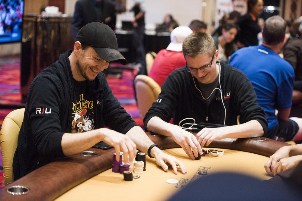 JimmiesBoss (Nathan Manuel) left, and Kevin Gerhart (KGerhart) right