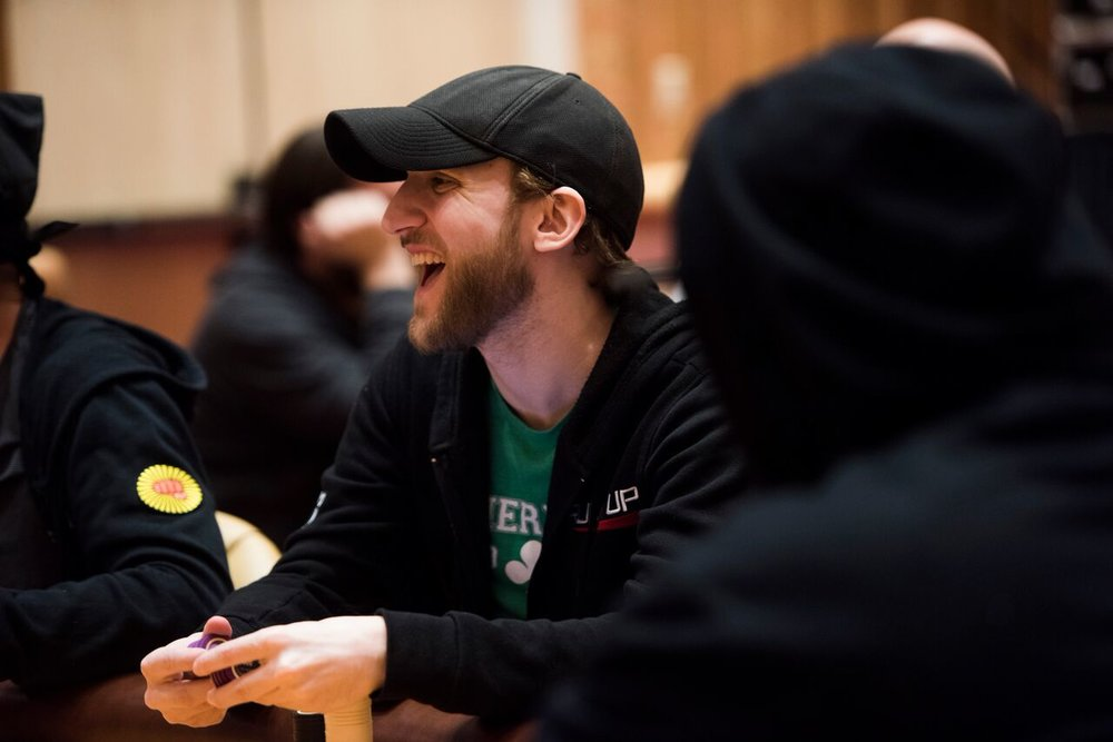 Jason Somerville: All smiles after securing his second cash of the series!