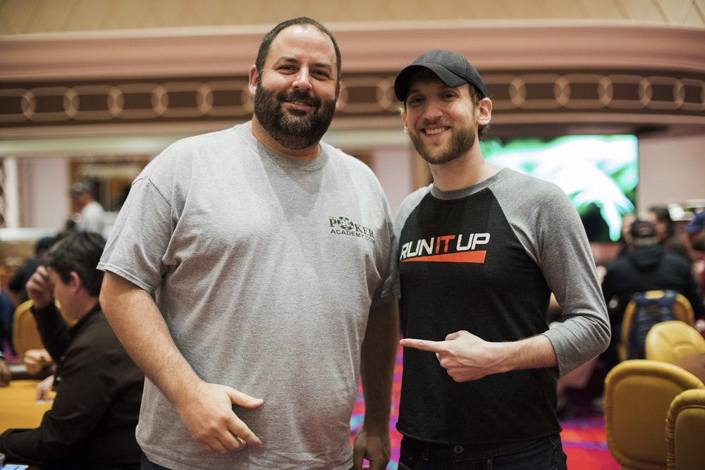 Rep Porter (Left) and Jason Somerville (Right)