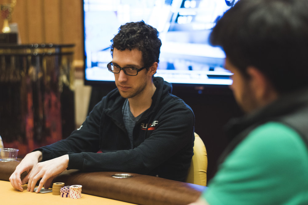 Jordan Spurlin leads 5-Card PLO
