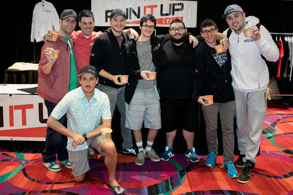 Team IRC: Left to Right - AlexNYC, BigBear, JimmiesBoss, AndyTheTimid, RIUPablo, Untitled2jc, EzRaw0, (front) TheYale