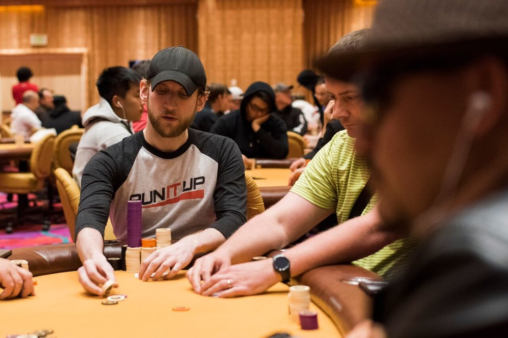 Jason Somerville is running up a stack on Day 1B