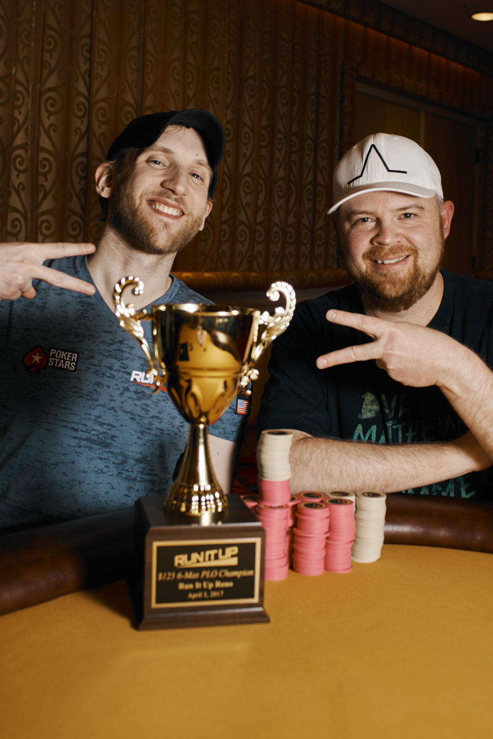 Jason Somerville and Jeff Chapman