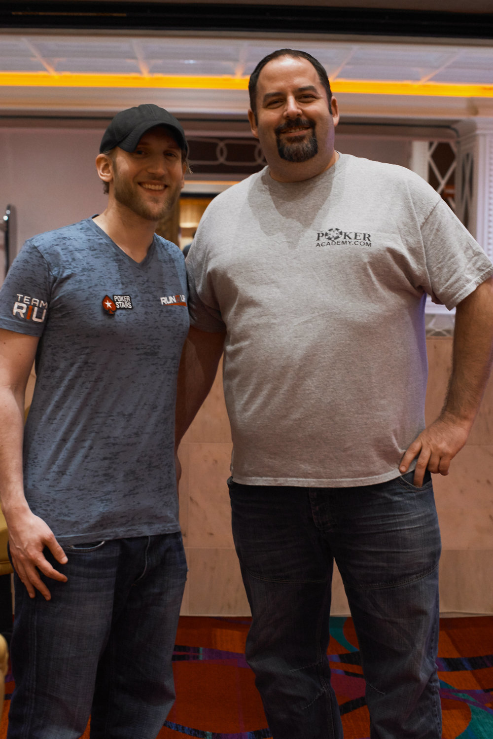 Your friendly Stud seminar hosts Jason Somerville and Rep Porter