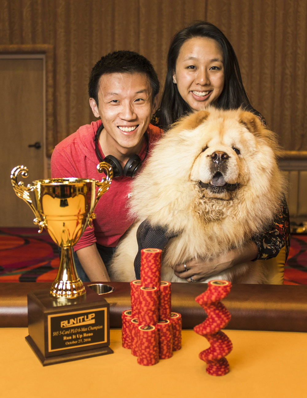 Albert Ng, Melly Wang, and Chewy, AKA Team Chewy