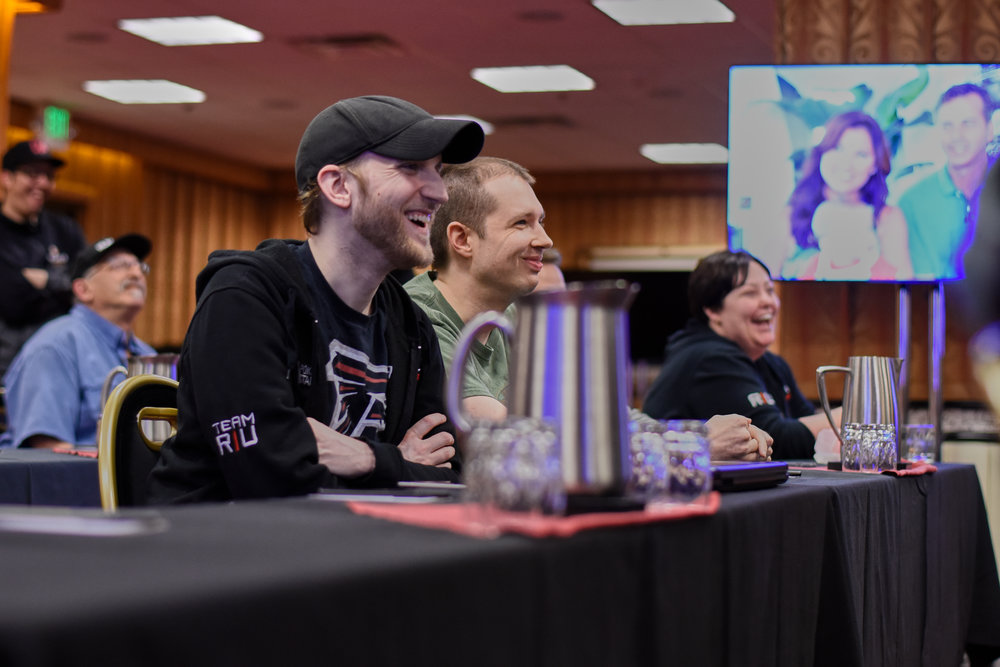 Jason Somerville and the other RIU Warriors take in Tyson and Rob's advice