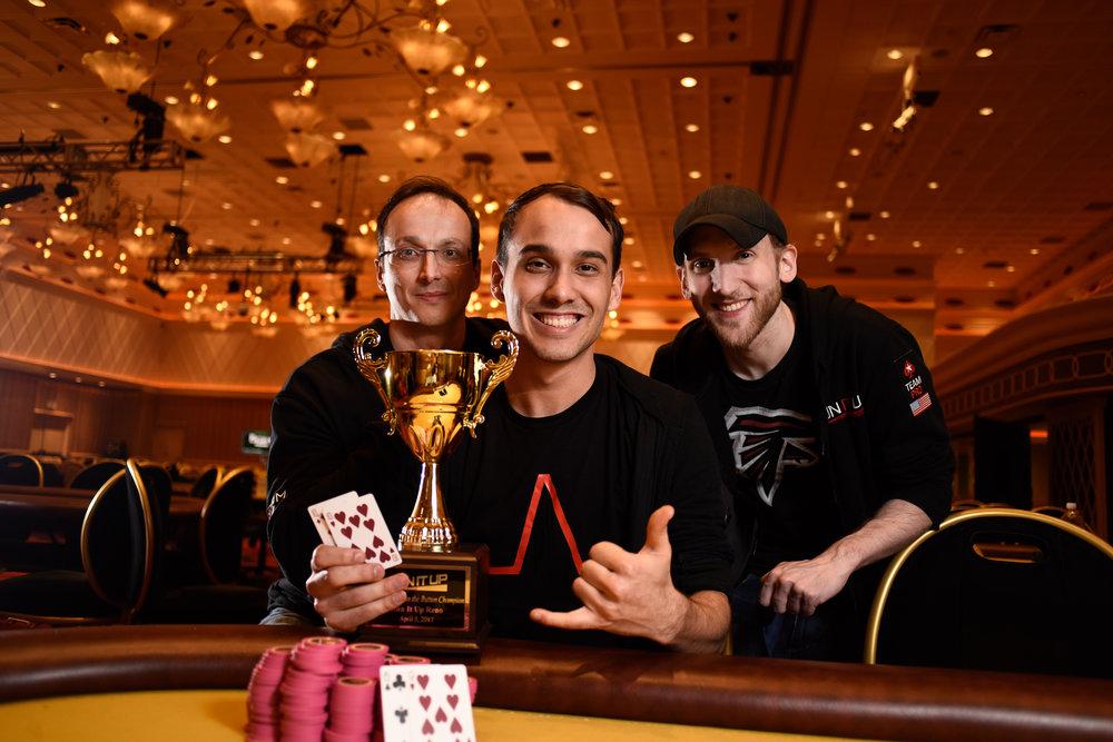 Eugune Zelensky, Max Zelensky, and Jason Somerville