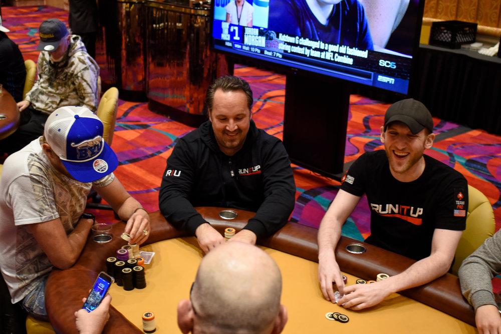 Tyson Apostol, Brent Harrington, and Jason Somerville