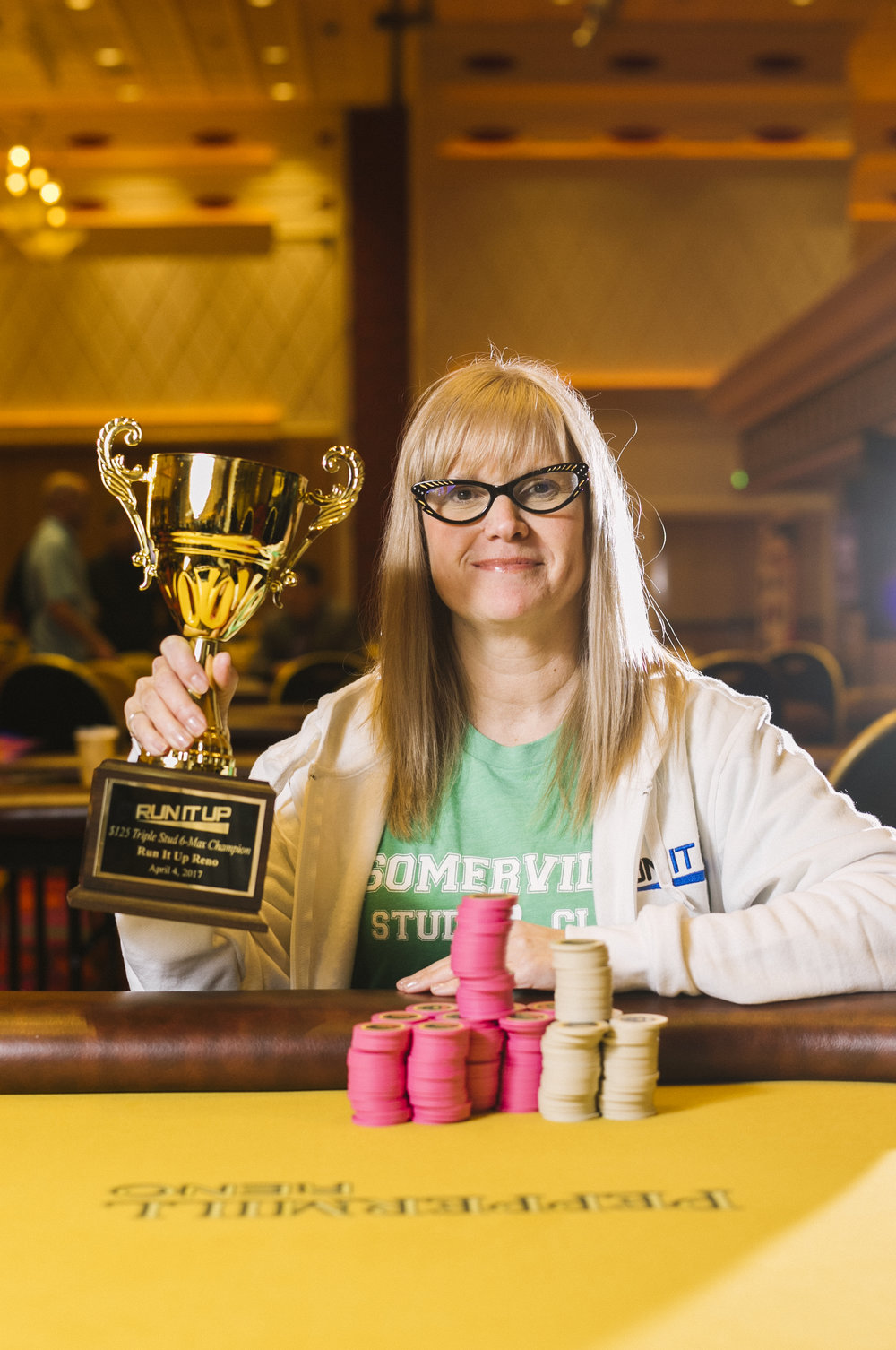 Deborah 'QueenBee902' Vanneste has made two final tables, including one win