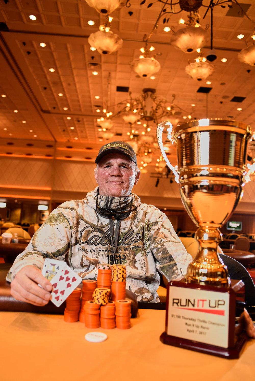Thursday Thrilla Bounty Winner: Steve Nevius