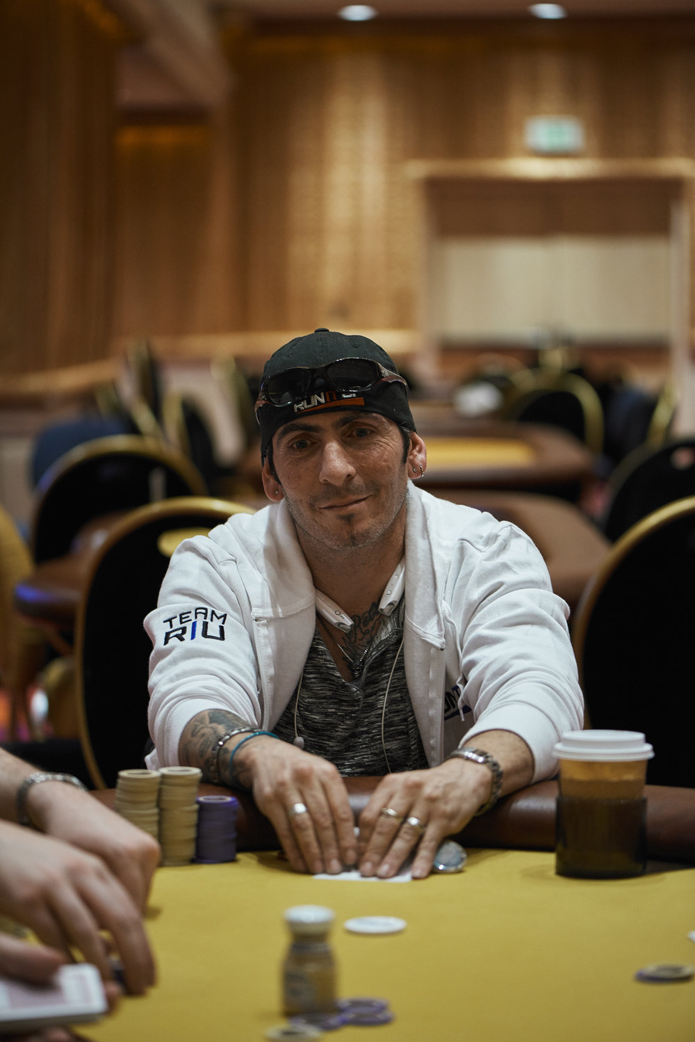 Two-time RIU Champion Jason Daniele has been eliminated