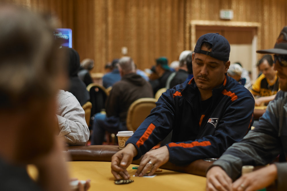 Boston Rob Mariano is running up a stack!