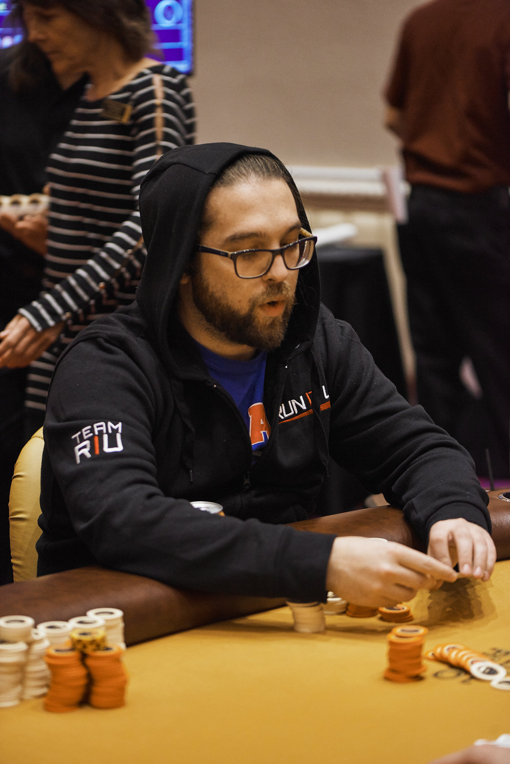Max Brown eliminated in 11th place for $2,525