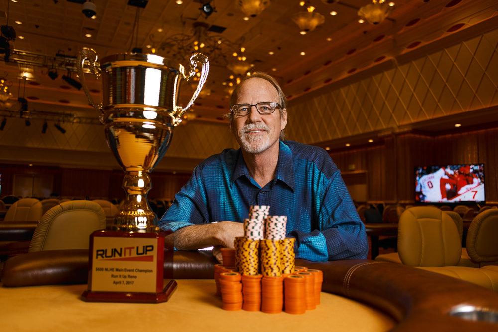 Run It Up Reno Main Event winner Tim Tucker