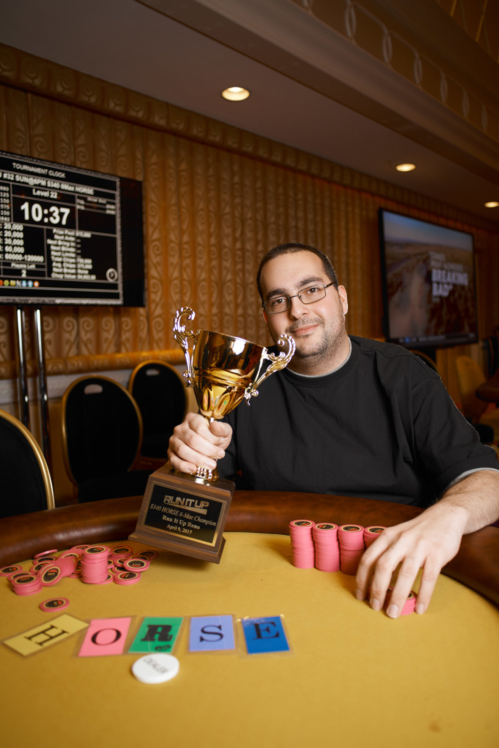 Shady Badran takes down the H.O.R.S.E. tournament for $4,002.