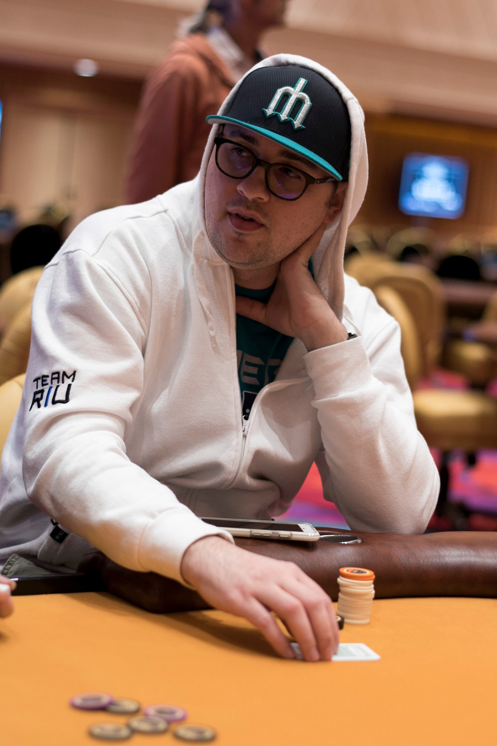 Alex Lavinthal looking for a third final table of the series