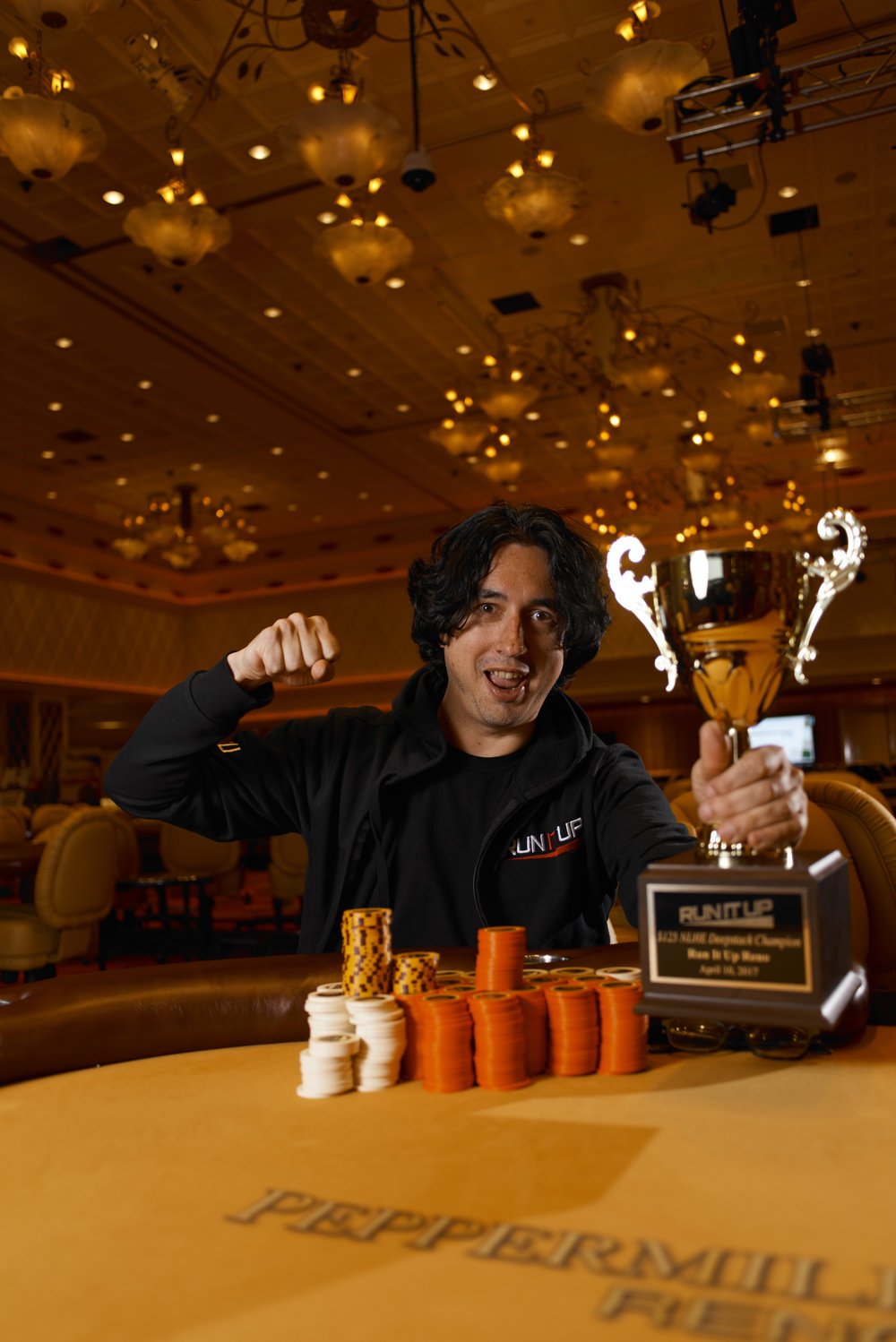 Chip Tutu is our Deepstack Champion!