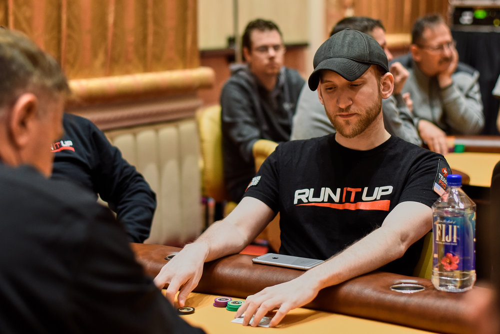 Jason Somerville has over half the chips in play in this final event!