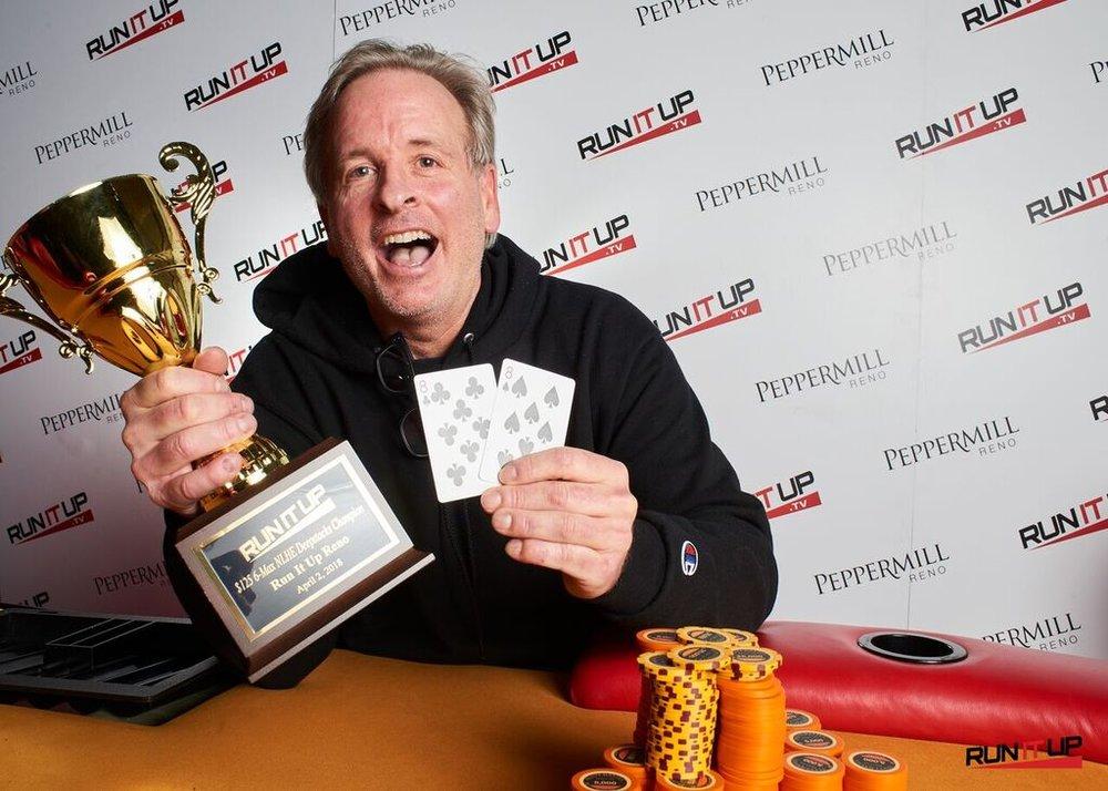 Eddie Cybulski scores first RIU Reno Title