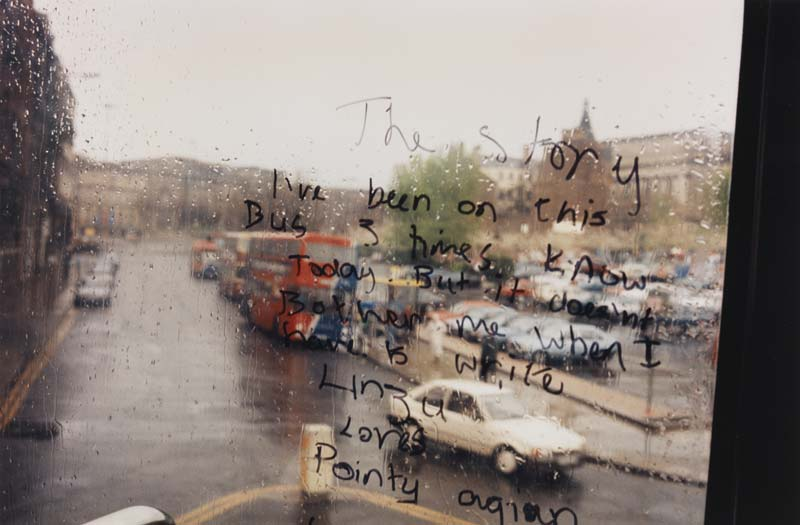 """Ellesse Line"" Tom Wood  courtesy Galerie Sit Down"