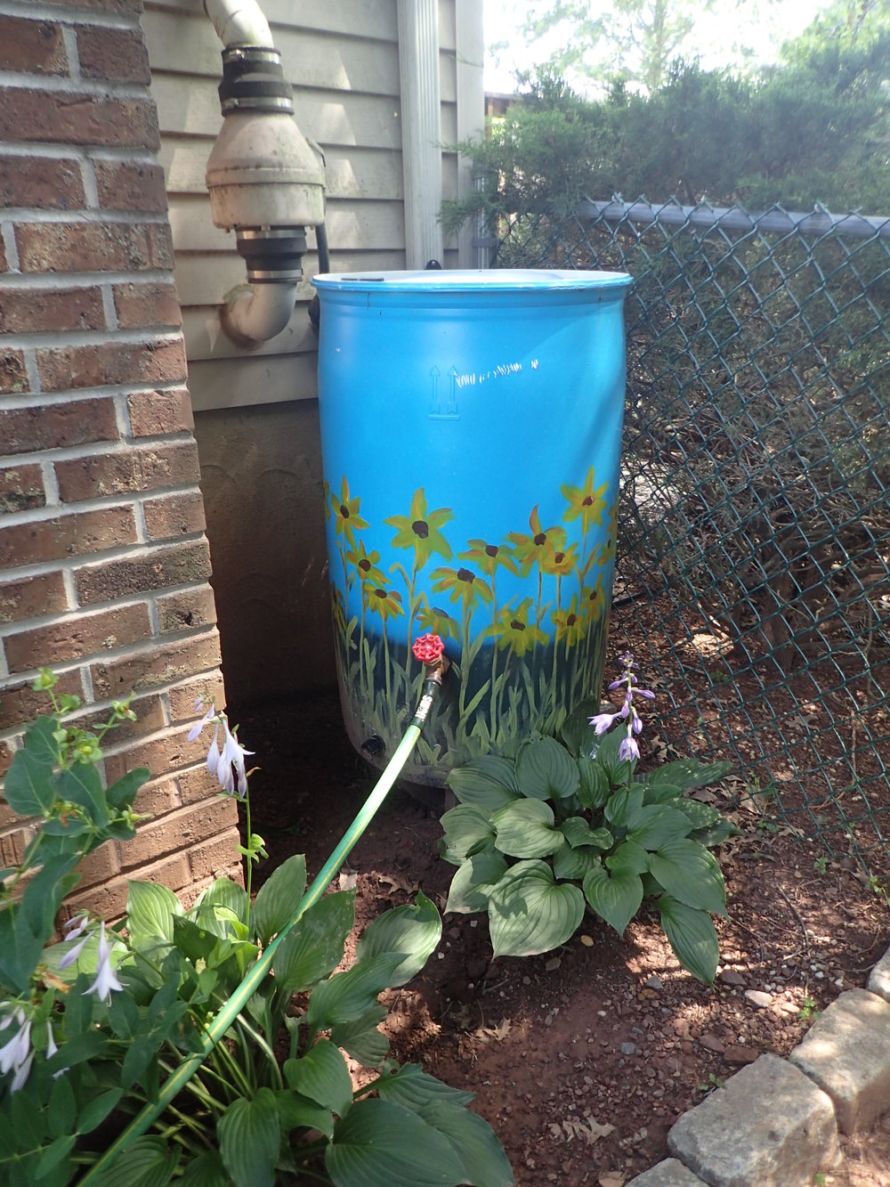 Install a rain barrel and get money back!