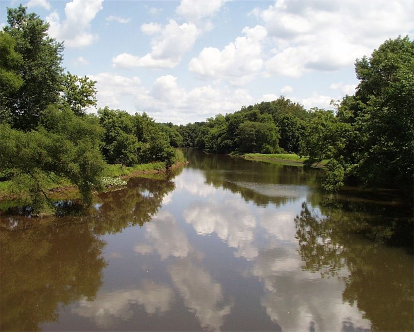 The Confluence of the Raritan and Millstone Rivers