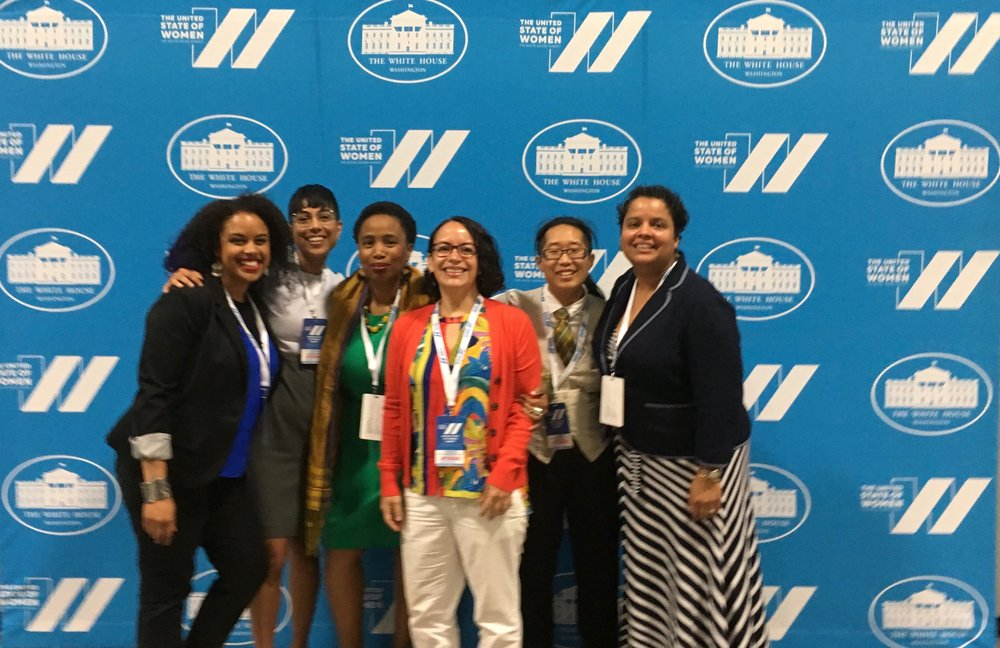 At the UNITED STATE OF WOMEN WHITE HOUSE SUMMIT