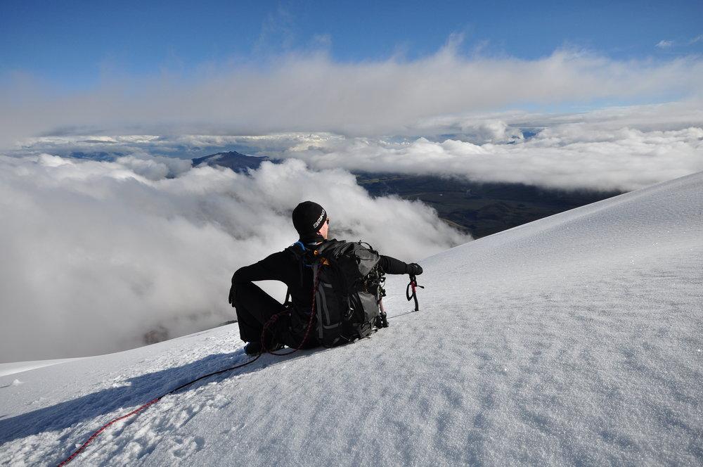 Climbing-chimborazo-ecuador