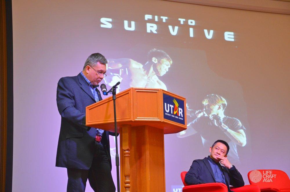 Opening ceremony speech by Dato Sri Aiman