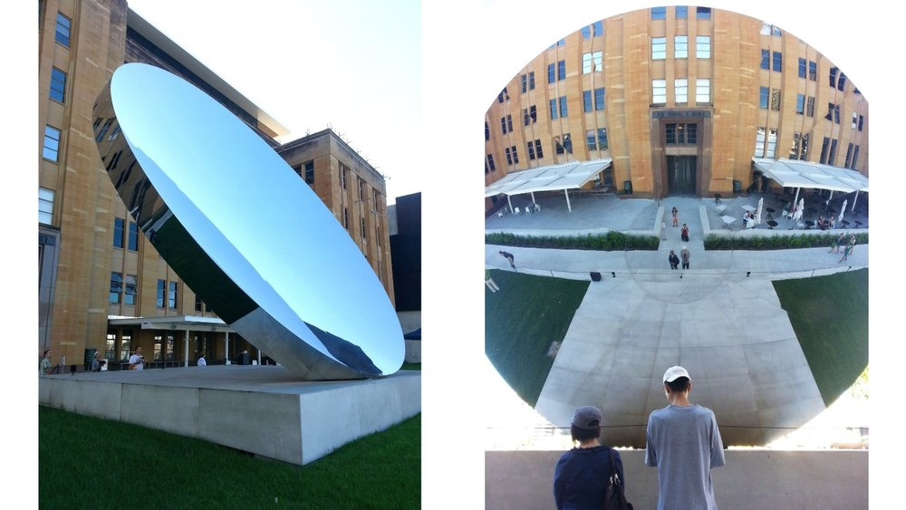 Anish Kapoor Sky Mirror 2006