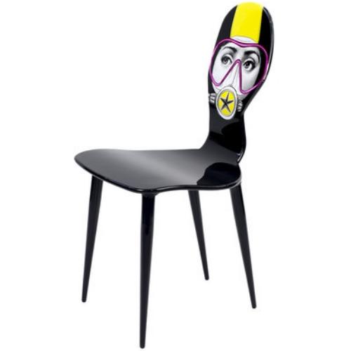 Fornasetti Silviasub Chair