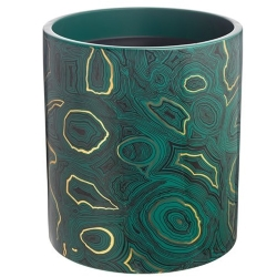 FORNASETTI MALACHITE LARGE CANDLE