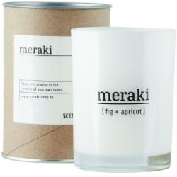 Meraki Fig and Apricot Candle