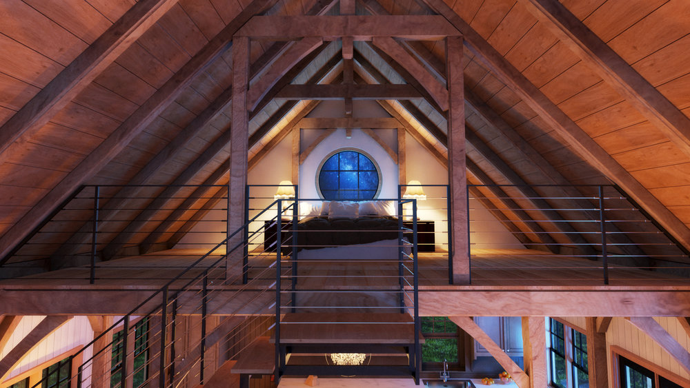 Rustic Barn House Kimmel Studio Architects