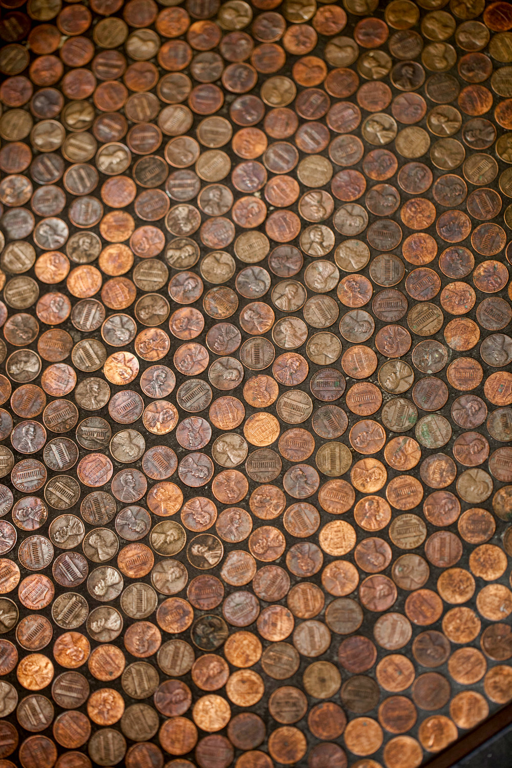 PB&J FUND/ PENNY TILE FLOOR