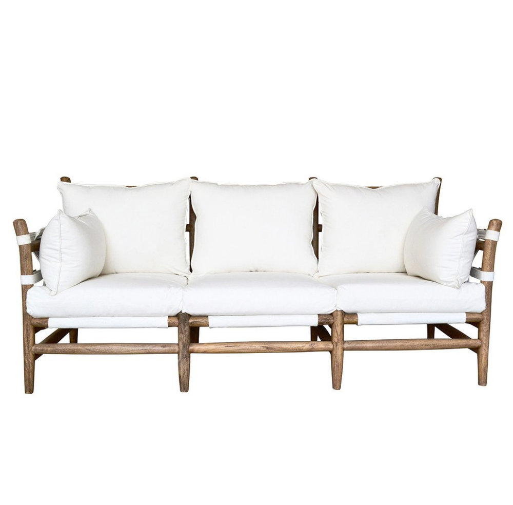 CAMPAIGN STYLE SLING SOFA