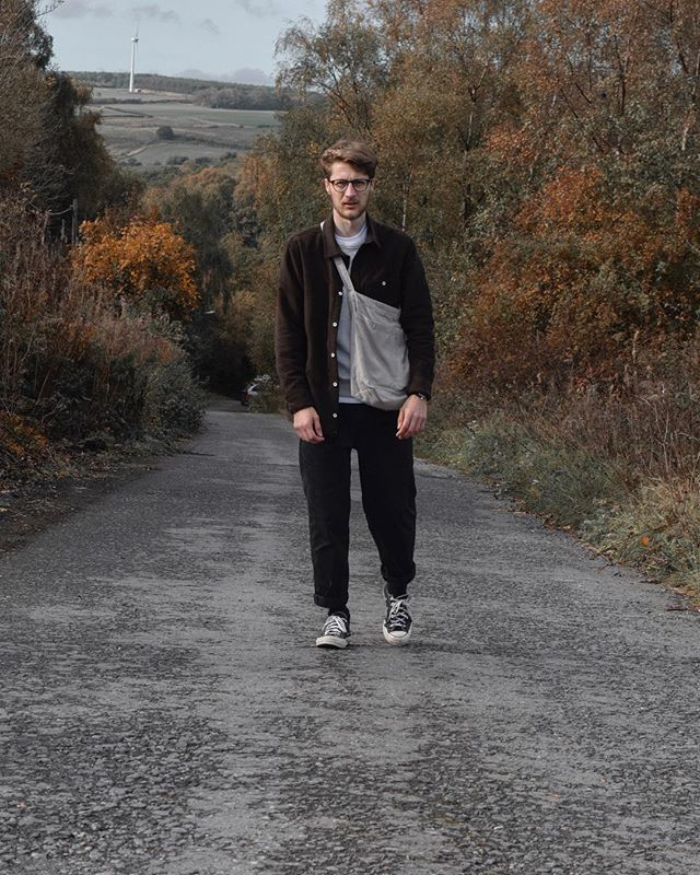 Ready for autumn? @jakpenny in the Wray overshirt. Perfect for the chill.