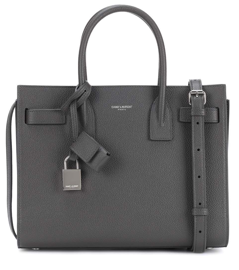 SAINT LAURENT    Sac De Jour Baby leather tote