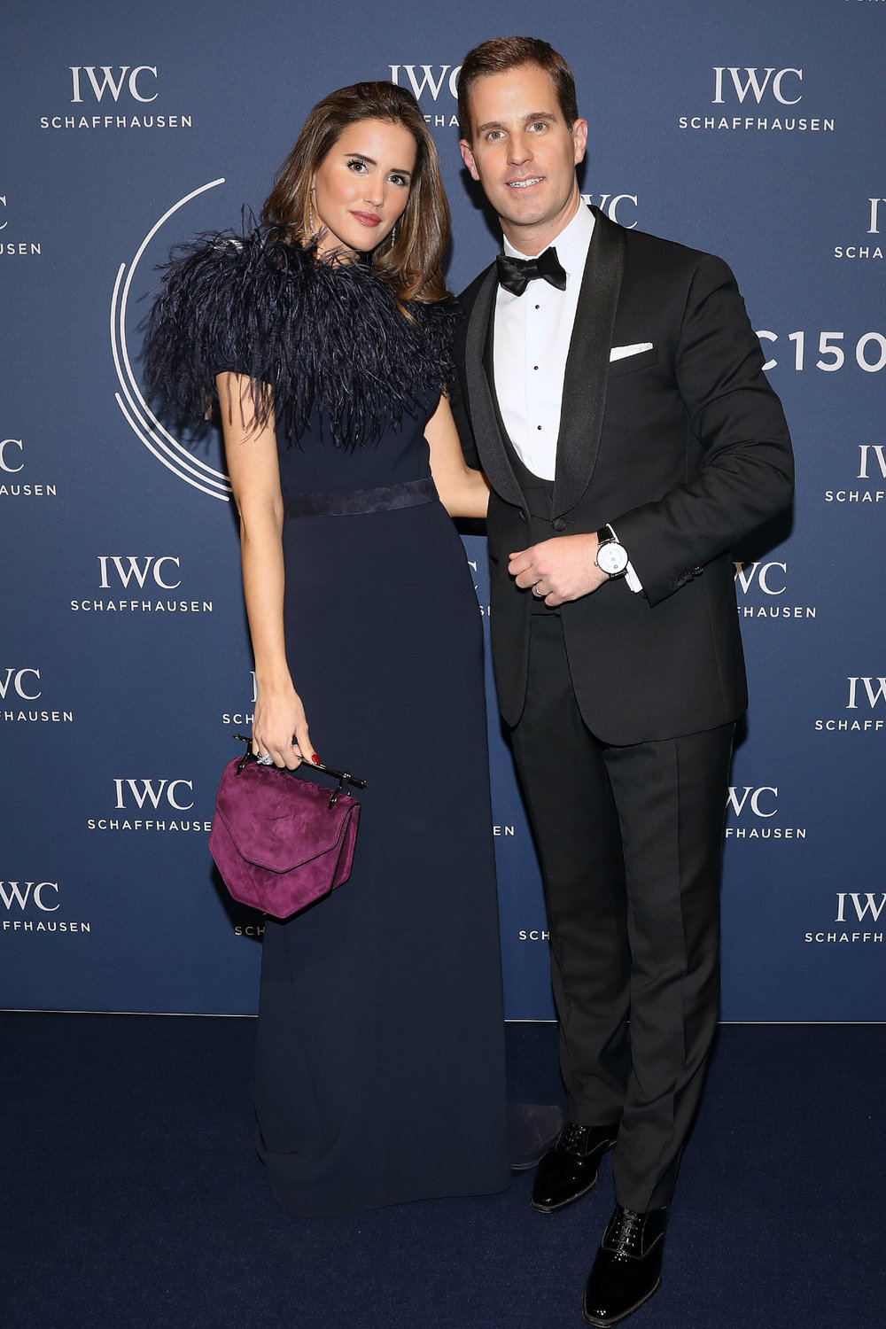 with Christian Graiger-Herr, CEO of IWC Schaffhausen