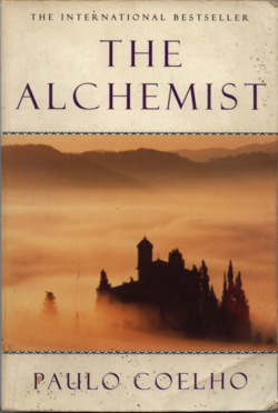 The Alchemist written by Paulo Coelho