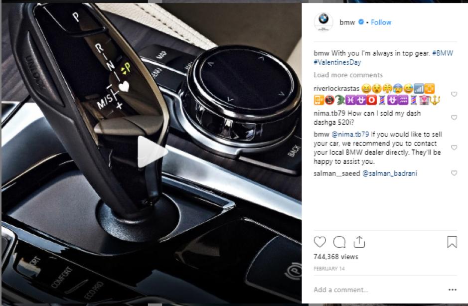 BMW Instagram 2