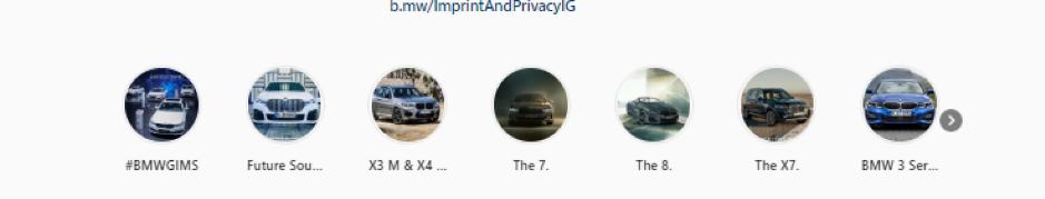 BMW instagram 3