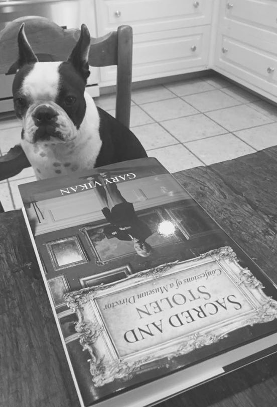 My dog is very excited about his copy.