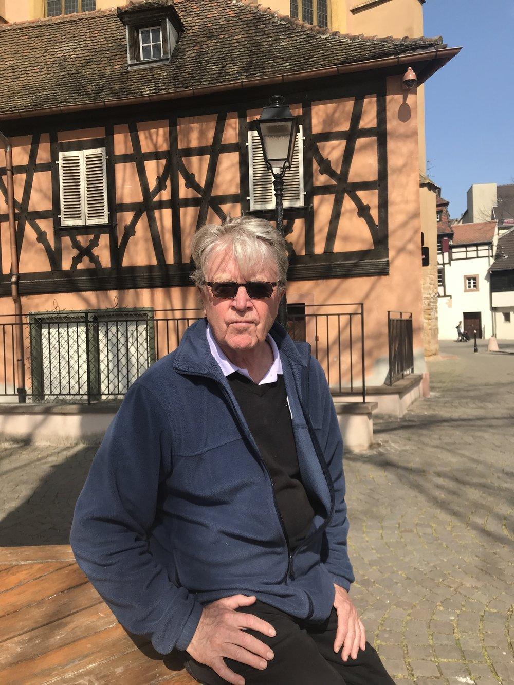 In Colmar, France, April 2019