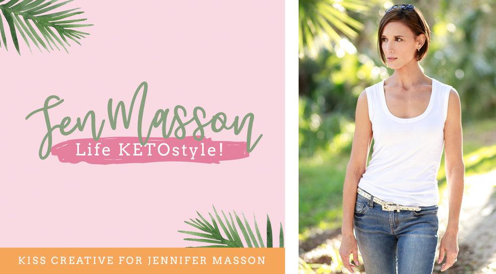 Jen Masson Brand Launch | Kiss Creative
